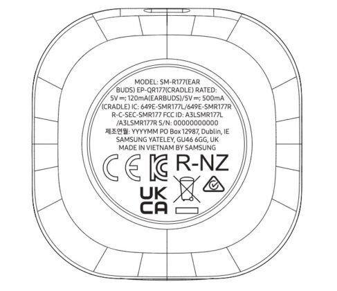 Detalhes técnicos dos Samsung Galaxy Buds 2 revelados na FCC