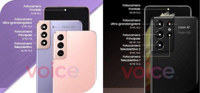 Samsung Galaxy camarasa