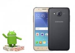Android Nougat 7.1 no Samsung Galaxy J5 2015 - Como instalar