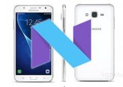 Samsung Galaxy J7 2015 recebe agora o Android Nougat 7.0