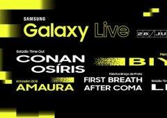 Samsung Galaxy Live: a segunda edição do festival online já tem data e cartaz oficial