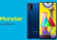 Samsung Galaxy M31 com desconto por tempo limitado. Aproveita!