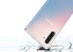 Samsung Galaxy Note 10: nova imagem revela o quão finas serão as margens do ecrã