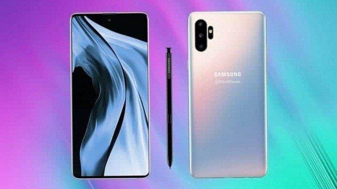 Galaxy Note 10 conceito