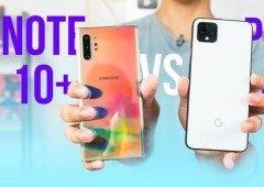 Samsung Galaxy Note 10+ vs Google Pixel 4 XL: Qual a melhor câmara? Este vídeo mostra!