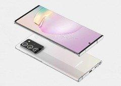 Samsung Galaxy Note 20+: novas imagens revelam segredos do smartphone