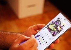 Samsung Galaxy Note 20 poderá chegar com ecrã dobrável!