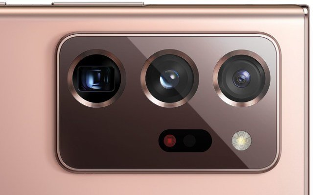 Design completo do Samsung Galaxy Note 20 Ultra