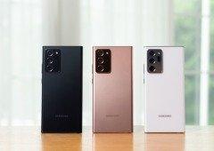 Samsung Galaxy Note 20 Ultra 5G deixa a desejar nos testes à sua câmara pela DxOMark