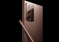 Samsung Galaxy Note 20 Ultra parcialmente revelado em imagens oficiais