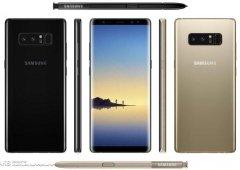 Galaxy Note 8 - Qual é a tua cor favorita para o próximo Samsung?