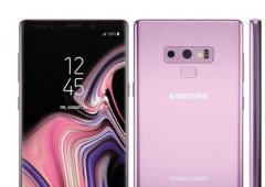 Samsung Galaxy Note 9 mostra agora as suas linhas em Lilás