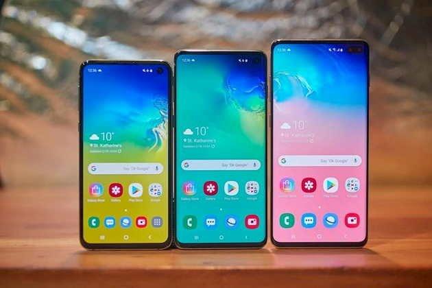 Samsung Galaxy S10 linha S