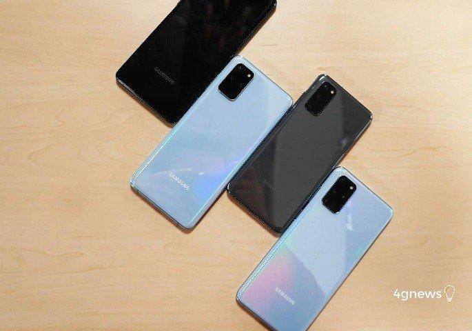 Samrtphones Samsung Android 11