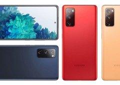 Samsung Galaxy S20 FE visto em imagens reais confirma o seu design
