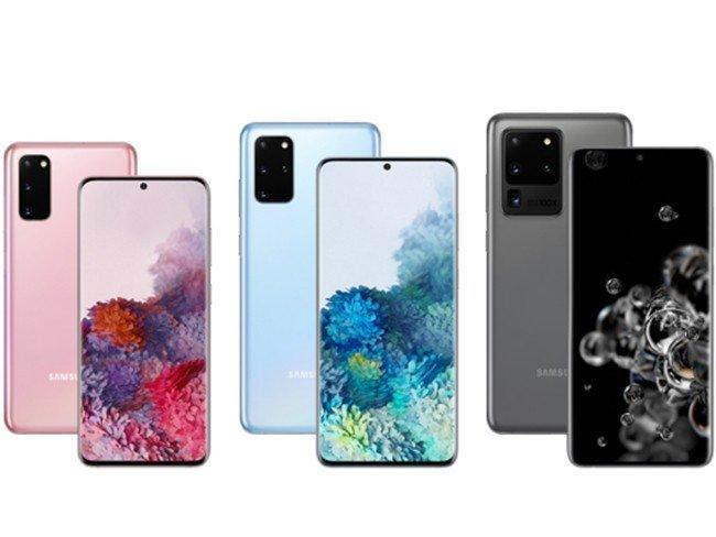 Série de telemóveis Samsung Galaxy S20