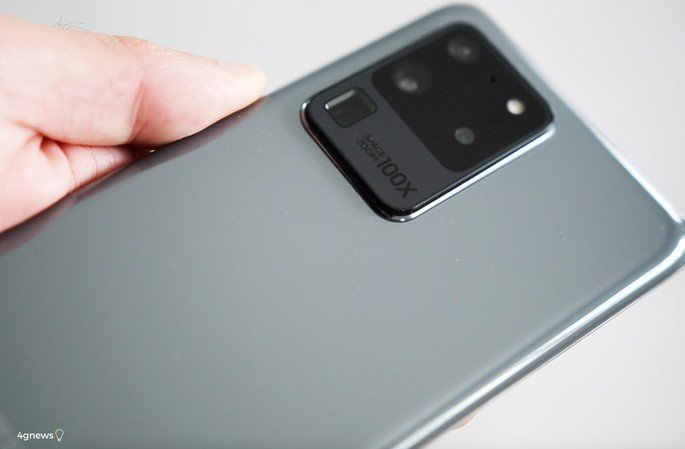 Samsung Galaxy S20 Ultra câmara