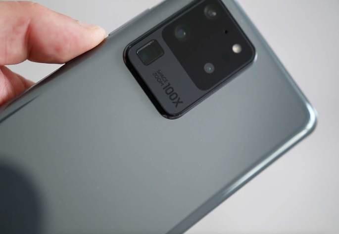 O Samsung Galaxy S20 Ultra é o atual topo de gama da marca