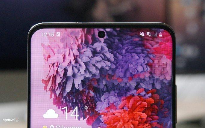 Samsung Galaxy S20 Ultra ecrã