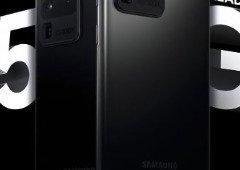 Samsung Galaxy S20 Ultra. Cartaz oficial confirma design do smartphone