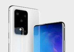 Samsung Galaxy S20 Ultra vai ser maior que o Galaxy Note 10+: vê o comparativo