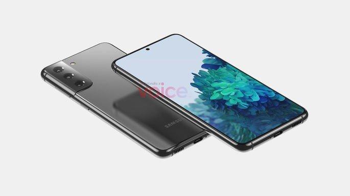 Render não oficial do Samsung Galaxy S21