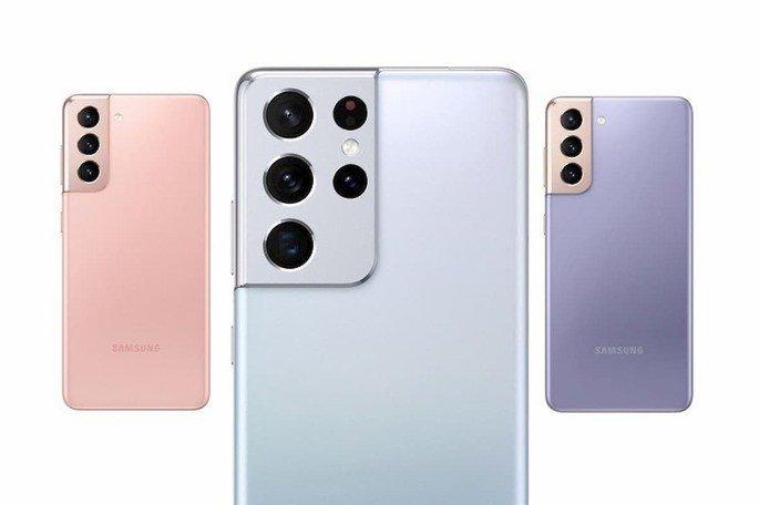 O design dos novos Samsung Galaxy S21, segundo as fugas de informação