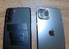 Samsung Galaxy S21+ envergonha iPhone 12 Pro Max na AnTuTu