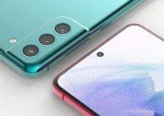 Samsung Galaxy S21 FE: vê o smartphone de todos os ângulos
