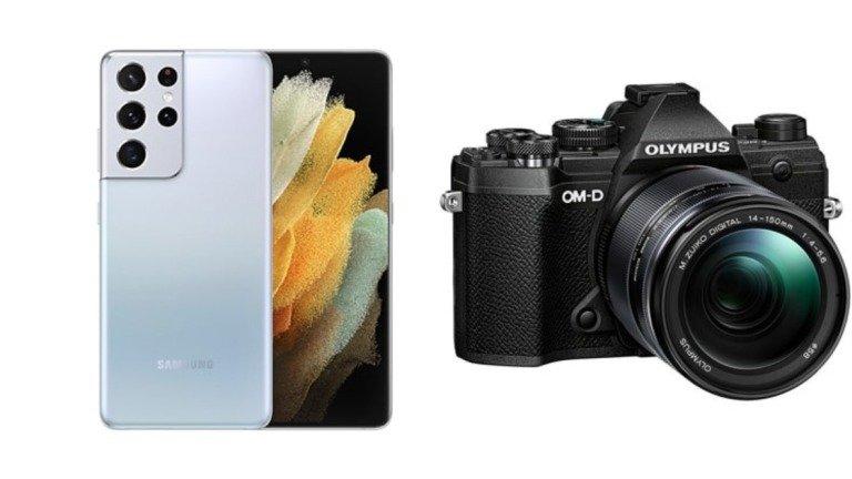 Samsung Galaxy S22: o possível design do telefone com câmaras Olympus