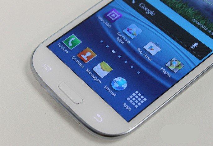 Samsung Galaxy S3, smartphone android antigo