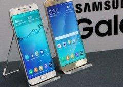 Samsung Galaxy S6 e Galaxy Note 5 recebem atualização 5 anos após o lançamento