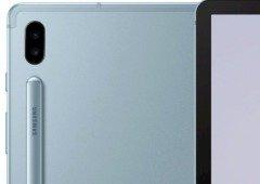 Samsung Galaxy Tab S6: imagens oficiais revelam design do tablet com duas câmaras