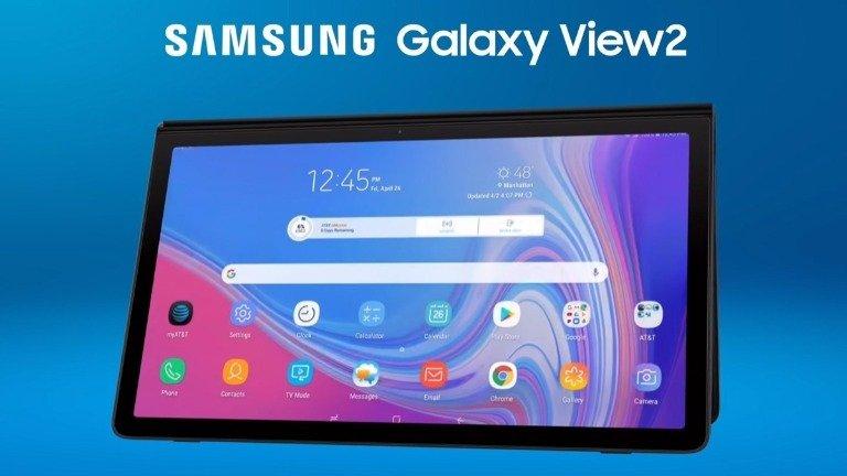 Samsung Galaxy View 2 é perfeito se quiseres ter uma Smart TV portátil!