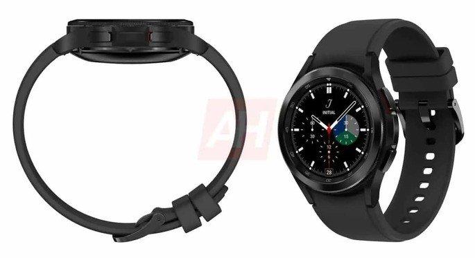 Renderizações do Samsung Galaxy Watch 4 Classic. Credito: Android Headlines