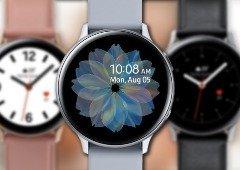 Samsung Galaxy Watch Active 2 tem design confirmado em novas imagens