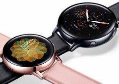Samsung Galaxy Watch Active 2: nova imagem mostra ecrã em pormenor