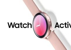 Samsung Galaxy Watch Active 2 virá com aro sensível ao toque