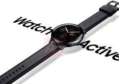 Samsung Galaxy Watch Active 2 visto no pulso de um utilizador antes da apresentação