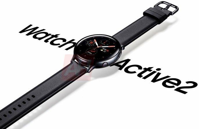 Samsung Galaxy Watch Active 2 render oficial