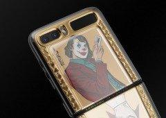 Samsung Galaxy Z Flip. Versão luxuosa de Joker e Harley Quinn já está em pré-venda