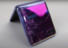 Samsung Galaxy Z Flip destruído é reparado, mas o valor é absurdo