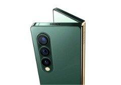 Samsung Galaxy Z Fold 3 imaginado com um design inspirado no iPhone 12