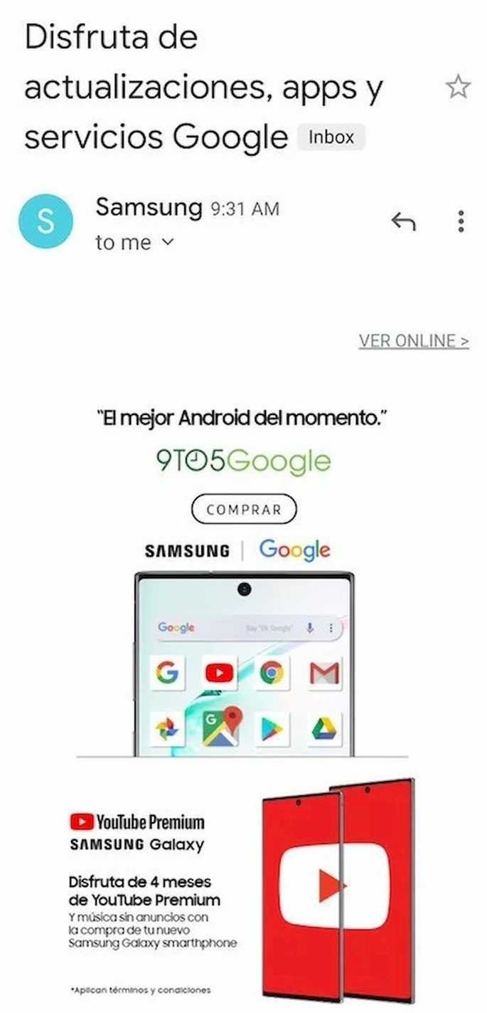Samsung goza com Huawei