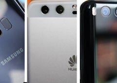 Samsung Galaxy S9, Xiaomi Mi 7 e Huawei P20, o que esperar de 2018?