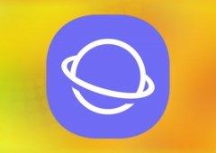 Aplicação Samsung Internet com mil milhões de downloads na Play Store