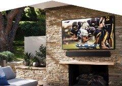 Samsung lança a Smart TV perfeita para teres no exterior da tua casa
