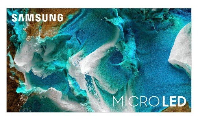 Televisores Samsung com Micro LED