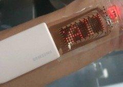 Samsung mostra ecrã OLED extensível com possível aplicação na pele