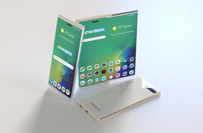Samsung patente smartphone futuro 2